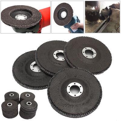 Angle Grinder Flap Sanding Disc 5'' 125mm 40-120 Grit Grinding Wheels 10/40Pcs 3