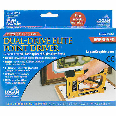 Logan F500-2 Dual Drive Elite Point Driver : Picture Framing Fitting Tool 4