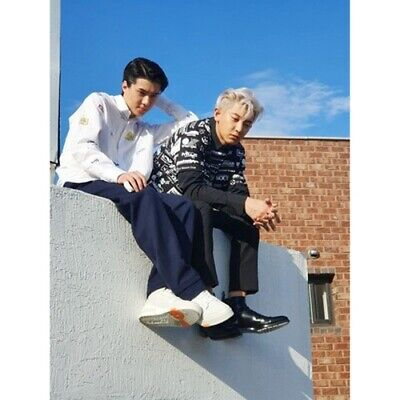 EXO-SC[What A Life]1st Unit Mini Album CD+2p Poster+Booklet+Card+Post+Tag+Gift 7