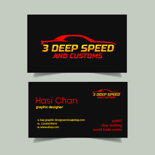 PRINT READY Professional Business Card Design 3