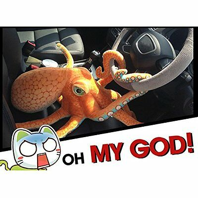 80cm Big Funny Cute Octopus Squid Stuffed Animal Soft Plush Toy Doll