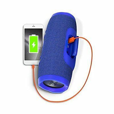 JBL Charge 3 Portable Bluetooth Speaker IPX7 Waterproof Blue *Authorized Dealer* 8