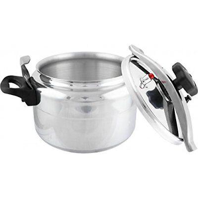 Olla de presión 7 Lts litros rápida para cocina gas o vitro cerámica elite 5