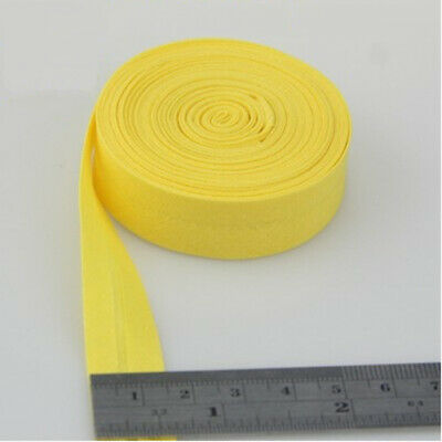 100% Cotton Bias Binding Tape Folded 16mm Wide 5/8 Inch Trimming/Edging/Quilting 8