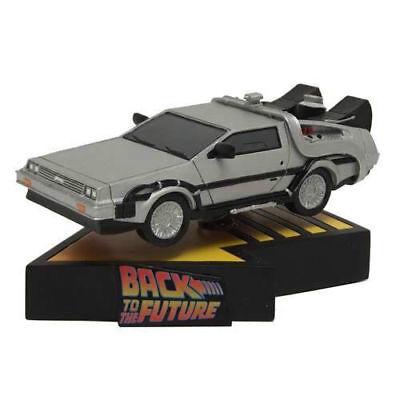 Back To The Future Delorean Premium Motion Statue Limited Edition #0711 of 2500 2