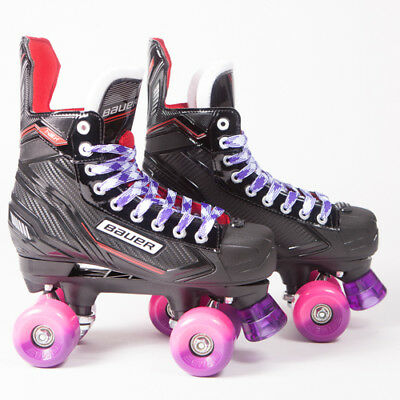 Bauer Quad Roller Skates - NSX - 2018 Model - Conversion - Sims Street Snakes 5