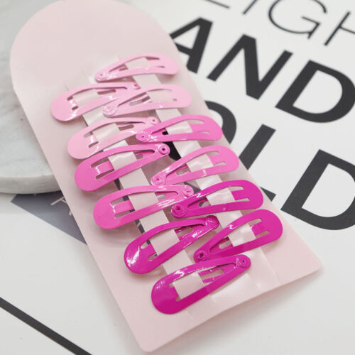 10x Girl Baby Kids Princess Hair Accessories Slides Snap Hair BB Clips Barrettes