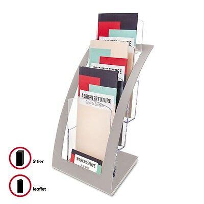 Deflect-O Three-Tier Leaflet Holder - 693645