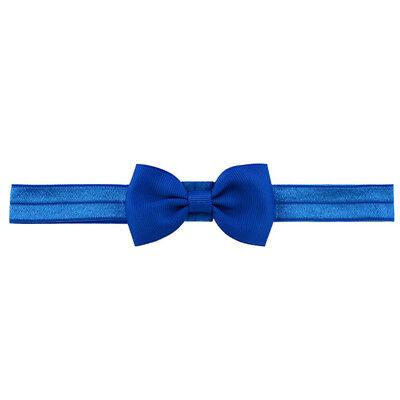 20X Baby Girls Bow Headband Hairband Soft Elastic Band Hair Accessories Pop. 12