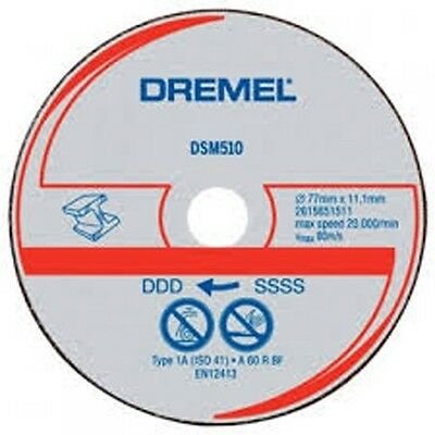 Dremel DSM510 Metal & Plastic Cutting Wheel for DSM20 SM510 Pk3 4