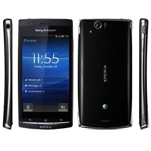 Sony Ericsson Xperia Arc S LT18i Unlocked Black Smartphone Android Mobile Phone 4