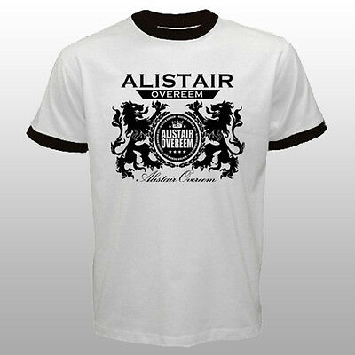 New MMA Fighter Alistair Overeem Dutch Lion Logo T-shirt