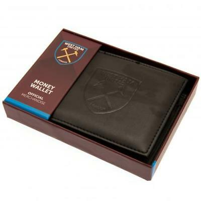 West Ham United FC Official Money Wallet with Debossed Crest ( m30804wh ) 4