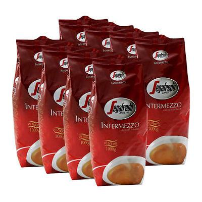 Segafredo Intermezzo Ganze Bohnen, 8 PAKETE ZU JE 1000 g NEUWARE 2