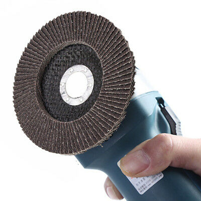 Angle Grinder Flap Sanding Disc 5'' 125mm 40-120 Grit Grinding Wheels 10/40Pcs 2