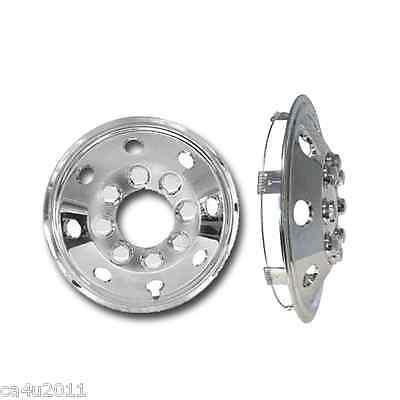 "Fiat Ducato Motorhome 15"" Chrome Van Wheel Trims- American Style - Hub Caps X 4 3"