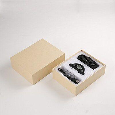 Rechargeble LCD Automatic Anti Bark No Barking Tone Shock Dog Training Collar 12