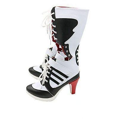 2416a3f540ba 4 4 of 9 Batman DC Comics Suicide Squad Harley Quinn Cosplay Boots High  Quality Costume ! 5