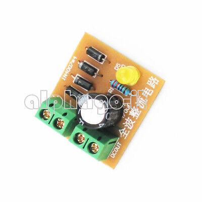 3-18V IN4007 Bridge Rectifier AC DC Converter Full Wave Rectifier Circuit Board 2