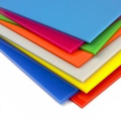 Cut to Size Coloured Acrylic Perspex Plastic Sheet Splashback Kitchen Panel Cast 2
