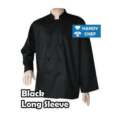 Quality Chef Jacket-Black or White-Brand New See Handychef store for Pants,Apron 3