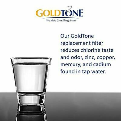 GoldTone Brand Charcoal Water Filters replaces Brita and Mavea Water Filters 4