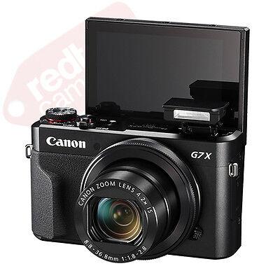Canon PowerShot G7x Mark II 20.1MP Digital Camera 4.2x Optical Zoom Full-HD 5
