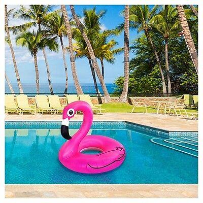 Big Giant Floating Pink Flamingo Inflatable Swimming Pool