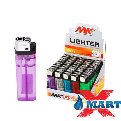 100 MK Classic Full Size Cigarette Lighter Disposable Lighters Wholesale Lot