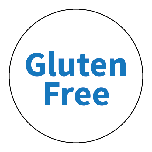 """Gluten Free"" Stickers - Food Allergy Labels - Various Colours and Sizes 3"