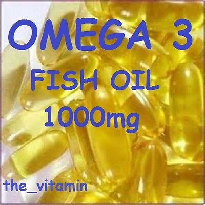 The Vitamin Omega 3 Fish Oil 1000mg 365 Capsules - Bagged 4