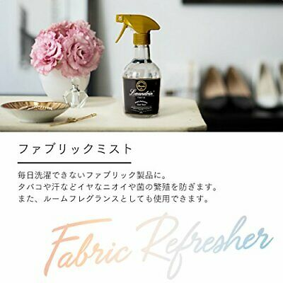 Laundrin Fabric Refresh Mist Classic Floral Aroma 370ml Made in JAPAN 4