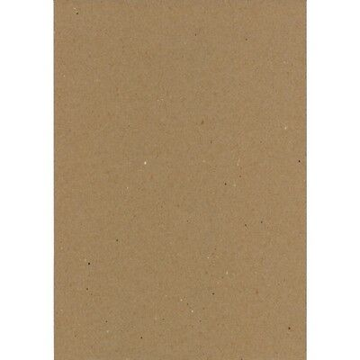 Brown Kraft Paper 100 x Sheets A4 75GSM Natural Recycled- Premium Quality