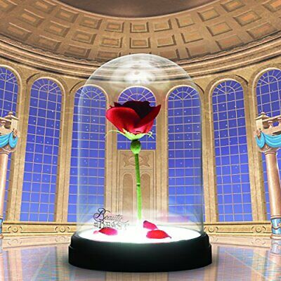 Lampada Incantata Disney La Bella e la Bestia Rosa incantata, Multicolore 2