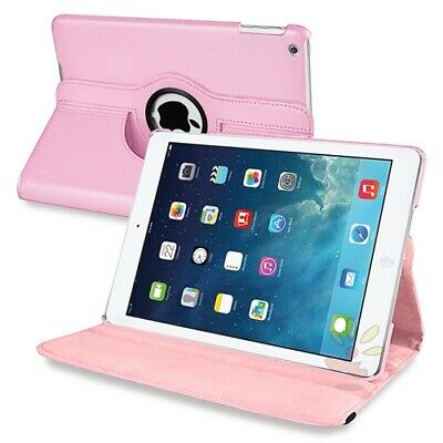 For iPad Case Cover Leather Shockproof 360 Rotating Stand ALL MODELS 6
