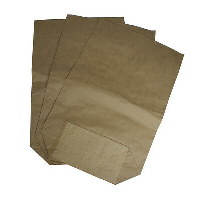 Papiersack hochwertig Müllsäcke 4 lagig mit PE-Inlinerfolie durchstoß sicher