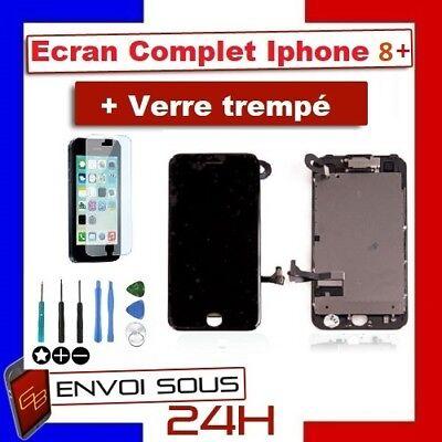 BLOC COMPLET VITRE TACTILE ECRAN LCD IPHONE 6/6 plus/6s/6s+/7/7+/8/8+ NOIR/BLANC 8