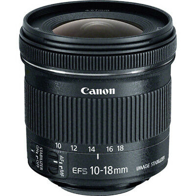 Canon EF-S 10-18mm f/4.5-5.6 IS STM Lens - 9519B002 - Brand New 2