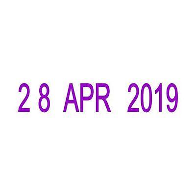 Small Date Stamp Military European Format 22 DEC 2019 Trodat
