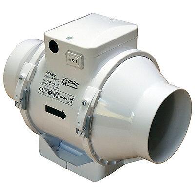 Badlüfter Kleinraumventilator hohe Leistung Kugellager dalap GRACE Ø150 41550