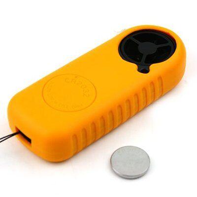 Mini Handheld Digital LCD Wind Speed Meter Thermometer Anemometer Velocity Gauge 8