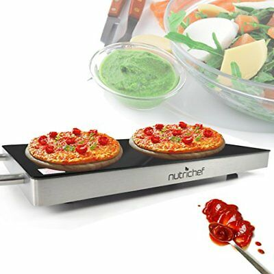 NutriChef Electronic Plug-In Food Warming Tray PKWTR15 9