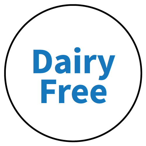"""""""Dairy Free"""" Stickers - Food Allergy Labels - Various Colours and Sizes 3"""