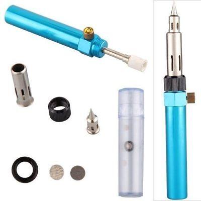 3in1 Gas Blow Torch Gun Soldering Solder Welder Iron Cordless Welding Pen Burner 2