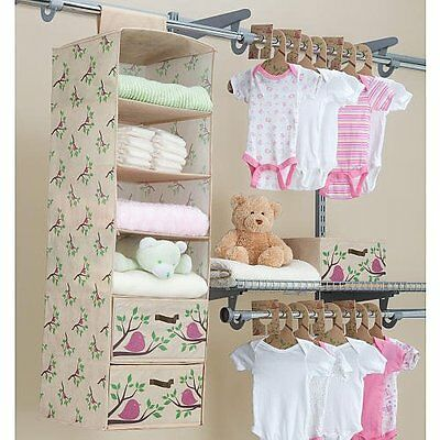 3 Of 4 Delta Children Girls Nursery Closet Organizer Bedroom Baby Infant PINK 20 Pc Eco