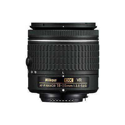 Afp Stepping Vr Nikon Af-p Dx Zoom Nikkor 18-55mm f/3.5-5.6G Lens New Gold Box 2