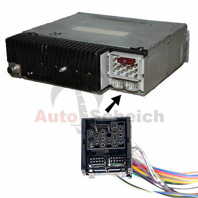 BMW E39 X5 E53 E38 E46 BM54 AUF BM24 BORD MONITOR RADIO NAVI ADAPTER KABEL MP3