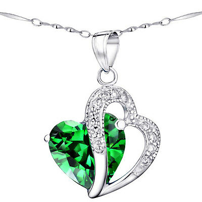 Womens created emerald sterling silver pendant necklace earring set womens created emerald sterling silver pendant necklace earring set 18 chain aloadofball Choice Image