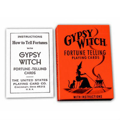 Gypsy Witch Tarot Deck Playing Cards Us Games Systems With Velvet Bag New 3