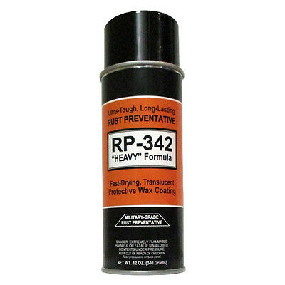 "3-Cans - COSMOLINE MILITARY-GRADE ""Heavy"" Spray Type Rust Preventive RP-342 3"